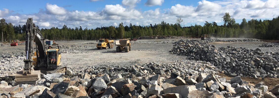 Berghantering Sika Industriområde