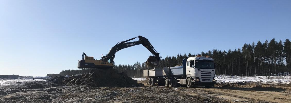 Utlastning vegetation ELP-Norra