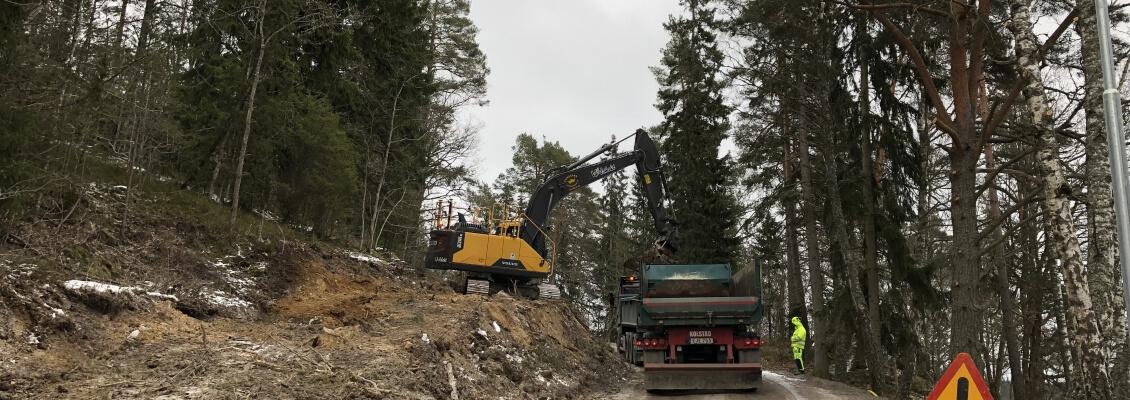 Utlastning i Nyfors