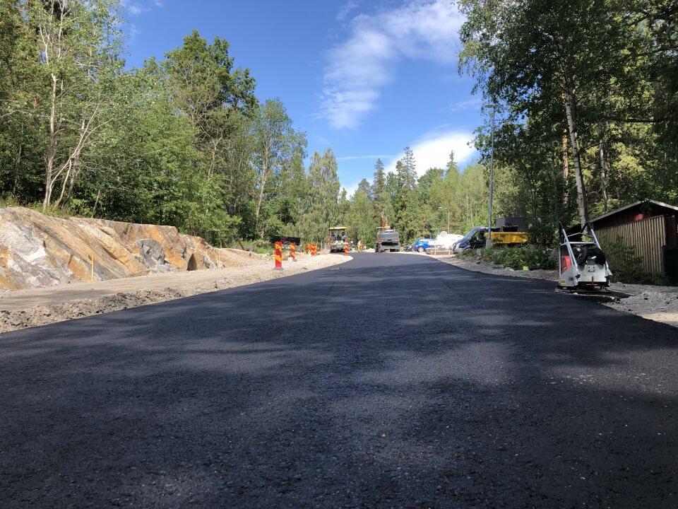 Asfalt AGF i Nyfors