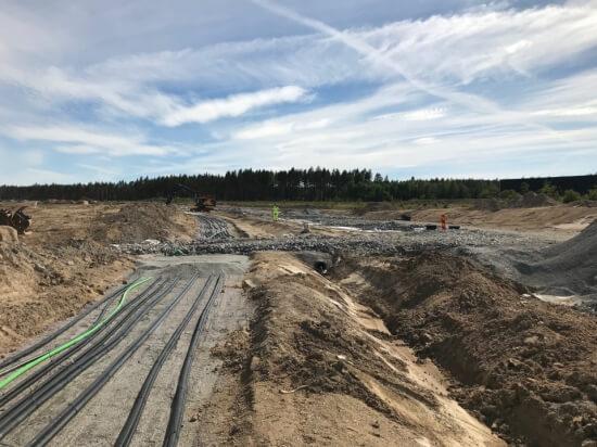 Kabel förläggning ELP-Norra